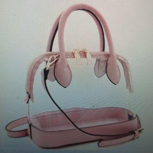 Handbags - Transparent Satchel Plastic